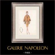 Modezeichnung - Frankreich - Paris - 1950er/1960er 36/47
