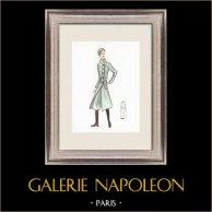 Modezeichnung - Frankreich - Paris - 1950er/1960er 37/47