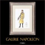 Modezeichnung - Frankreich - Paris - 1950er/1960er 38/47