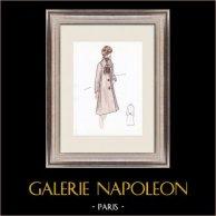 Modezeichnung - Frankreich - Paris - 1950er/1960er 39/47