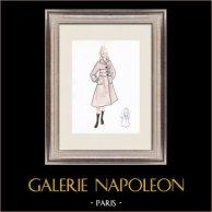 Modezeichnung - Frankreich - Paris - 1950er/1960er 40/47