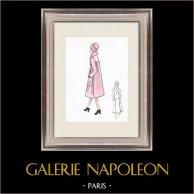 Modezeichnung - Frankreich - Paris - 1950er/1960er 41/47