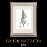 Modezeichnung - Frankreich - Paris - 1950er/1960er 42/47