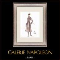 Modezeichnung - Frankreich - Paris - 1950er/1960er 43/47