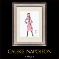 Modezeichnung - Frankreich - Paris - 1950er/1960er 44/47