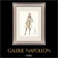 Modezeichnung - Frankreich - Paris - 1950er/1960er 45/47