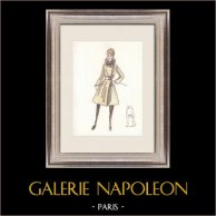 Fashion Drawing - France - Paris - Years 1950/1960 45/47