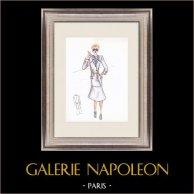 Fashion Drawing - France - Paris - Years 1950/1960 46/47