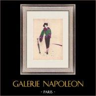 Dibujo de Moda - Francia - París - Japón - Años 1950