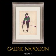 Mode Ritning - Frankrike - Paris - Japan - 1950-Talet