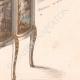 DÉTAILS 06 | Dessin Préparatoire - Ebénisterie - Vitrine N°687