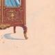 DÉTAILS 06 | Dessin Préparatoire - Ebénisterie - Vitrine N°43