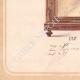 DÉTAILS 05 | Dessin Préparatoire - Ebénisterie - Vitrine N°228