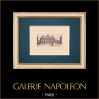 Vista di Parigi - Teatri d'Opera di Parigi - Opéra Garnier - Palais Garnier