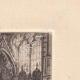 DETAILS 05 | View of Paris - Saint Etienne du Mont Church - Sainte Genevieve's grave