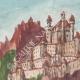 DÉTAILS 02   Vue de Sarentino - Château - Castel Regino - Trentin - Italie (Henriette Quillier)