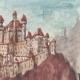 DÉTAILS 05   Vue de Sarentino - Château - Castel Regino - Trentin - Italie (Henriette Quillier)
