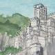 DÉTAILS 02   Château fort - Rocca di Pierle - Cortone - Arezzo - Toscane - Italie (Henriette Quillier)