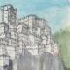 DÉTAILS 05   Château fort - Rocca di Pierle - Cortone - Arezzo - Toscane - Italie (Henriette Quillier)