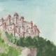 DÉTAILS 05 | Château - Castello di Aviano - Vénétie - Italie (Henriette Quillier)
