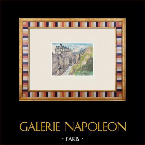 Wyimaginowany Zamek - Ville-sur-illon - Wogezy - Francja (Henriette Quillier) |