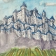 DÉTAILS 02 | Château imaginaire - Enceinte de Rions - Gironde - France (Henriette Quillier)