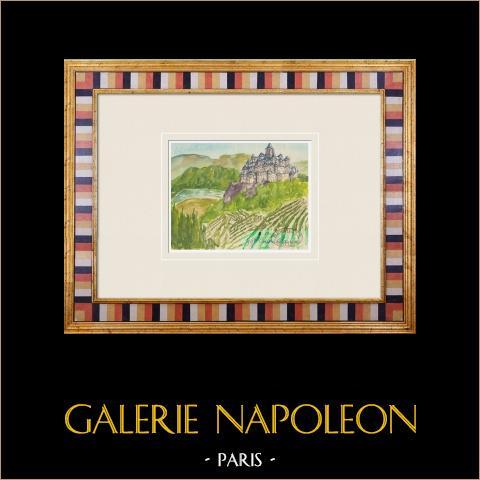 Denkbeeldig Kasteel - Curton Castle - Gironde - Frankrijk (Henriette Quillier) |