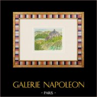 Imaginäre Schloss - Curton Schloss - Gironde - Frankreich (Henriette Quillier)
