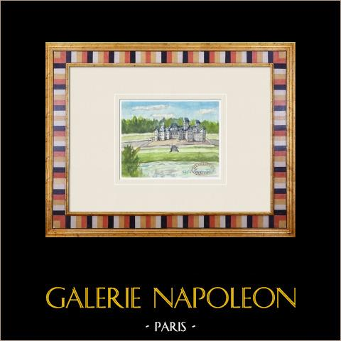 Denkbeeldig Kasteel - Château de Malle in Preignac - Gironde - Frankrijk (Henriette Quillier) |