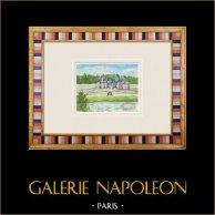 Imaginary Castle - Château de Malle in Preignac - Gironde - France (Henriette Quillier)