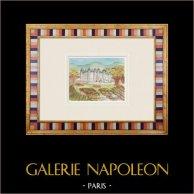 Castillo imaginario - Villandraut - Gironda - Francia (Henriette Quillier)