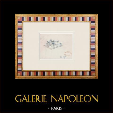 Denkbeeldig Kasteel - Cadillac - Gironde - Frankrijk (Henriette Quillier) |