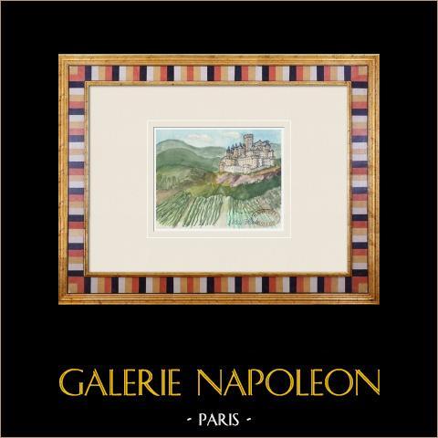 Denkbeeldig Kasteel - Cagès - Illats - Gironde - Frankrijk (Henriette Quillier) |