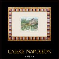 Imaginäre Schloss - Cagès - Illats - Gironde - Frankreich (Henriette Quillier)