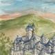 DÉTAILS 01 | Château imaginaire - Belin-Béliet - Butte d'Aliénor - Vieux château - Gironde - France (Henriette Quillier)