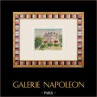 Imaginäre Schloss - Coutras - Römisches Haus - Gironde - Frankreich (Henriette Quillier)