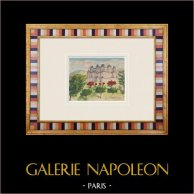 Imaginary Castle - Coutras - Roman villa - Gironde - France (Henriette Quillier)