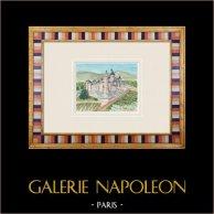 Imaginäre Schloss - Auros - Mittelalterliche Burg - Gironde - Frankreich (Henriette Quillier)