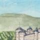 DÉTAILS 01 | Château imaginaire - Auros - Château medieval - Gironde - France (Henriette Quillier)
