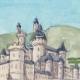 DÉTAILS 02 | Château imaginaire - Auros - Château medieval - Gironde - France (Henriette Quillier)