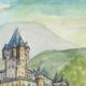 DÉTAILS 02   Château imaginaire - Moulin de Caussarieu - Gironde - France (Henriette Quillier)