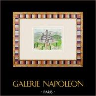 Castelo imaginário - Montlhéry - Ilha de França (Henriette Quillier)