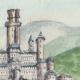 DÉTAILS 02   Château imaginaire - Château fort de Montlhéry - Donjon - Ile de France (Henriette Quillier)