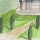 DÉTAILS 03   Château imaginaire - Château fort de Montlhéry - Donjon - Ile de France (Henriette Quillier)