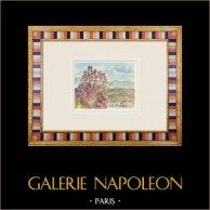 Imaginary Castle - Roquefure - Apt - Vaucluse - France (Henriette Quillier)