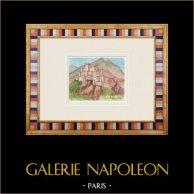Castillo imaginario - Malaucène - Vaucluse - Francia (Henriette Quillier)