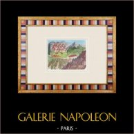 Imaginary Castle - Saumane-de-Vaucluse - Vaucluse - France (Henriette Quillier)