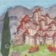 DÉTAILS 01   Château imaginaire - Saumane-de-Vaucluse - Vaucluse - France (Henriette Quillier)