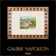 Castelo imaginário - Beaumont-du-Ventoux - Vaucluse - França (Henriette Quillier)