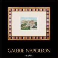 Castelo imaginário - Uchaux - Le Castelas - Vaucluse - França (Henriette Quillier)